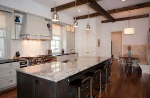 hanging lights kitchen island stylish metal pendant lights above kitchen island with marble countertop decoist