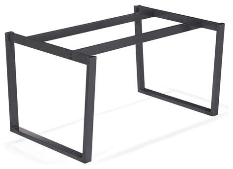 vario moma pi 233 tement en acier noir contemporain plateau et pied de table par alin 233 a
