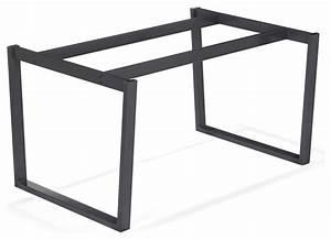 Pied De Table Basse Metal : pied pour table haute pas cher ~ Teatrodelosmanantiales.com Idées de Décoration