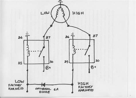 Dodge Headlight Relay Wiring Diagram by Relays For Headlight Switch Dodge Diesel Diesel Truck