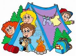 Camping Clipart Free ClipArt Best Border