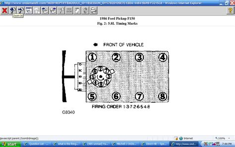 What The Firing Order Location Spark Plug Wires