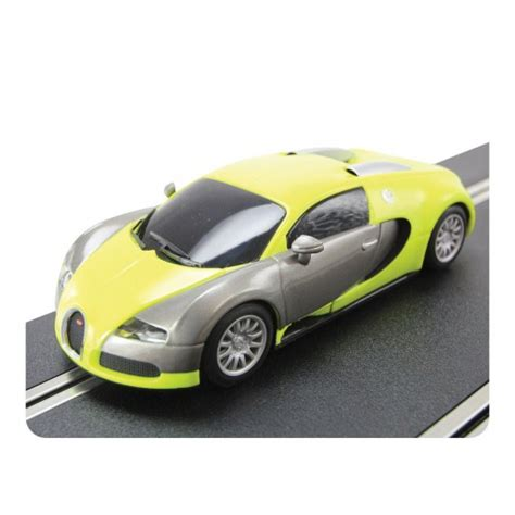 Bugatti displayed a concept car called the eb 18/4 veyron which outlined the basic shape for future versions. Scalextric C3275 Bugatti Veyron Yellow - Slot Car-Union