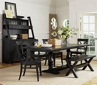 black dining room table Dining Room: large black dining room table for small ...