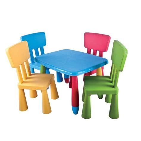 table pour enfant set de table et chaises enfant mamouth 5 pi 232 ces achat vente table b 233 b 233 6037656389146