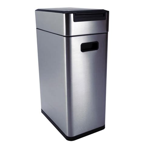 Oxo Kitchen Garbage Cans by Oxo Stainless Steel Touch Trash Can In Stainless Steel