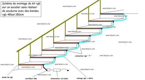 Tutoriel Créer Un Escalier En Ruban Led Rgb Pas Cher