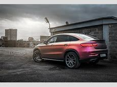 Russian Mercedes GLE Coupe Combines Vossen Wheels with