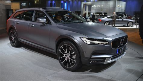 volvo new all new volvo v90 cross country and 2017 polestar debuts