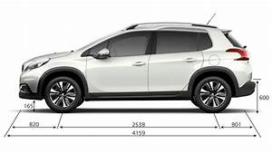 Dimension 2008 Peugeot : peugeot 2008 suv technical information peugeot uk ~ Maxctalentgroup.com Avis de Voitures