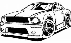 Street Racing Cars Free Coloring Pages