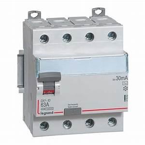 Interrupteur Differentiel Hager 63a Type Ac : interrupteur diff rentiel t trapolaire legrand 63a 30ma ~ Edinachiropracticcenter.com Idées de Décoration