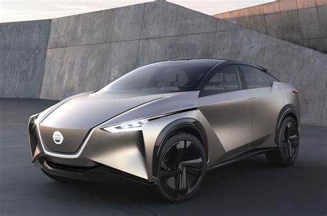 nissan finally  sporty oks electric suv concept