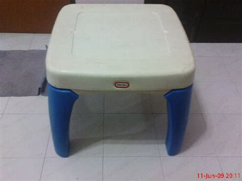 Tikes Table And Chairs With Drawers by Colourful Tikes Table With Drawer Sold