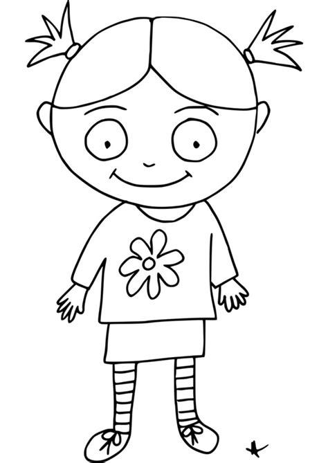 dessin de fille coloriage de fille