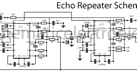echo effect with ic pt2399 schematic subwoofer bass lifier