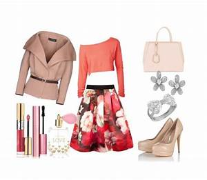 Girly and elegant spring outfit - stylishwomenoutfits.com