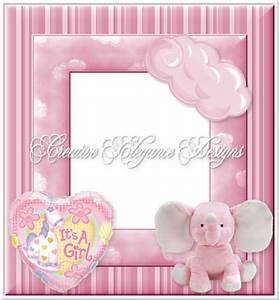 Creative Elegance Designs: Baby Girl Frame For Follower ...