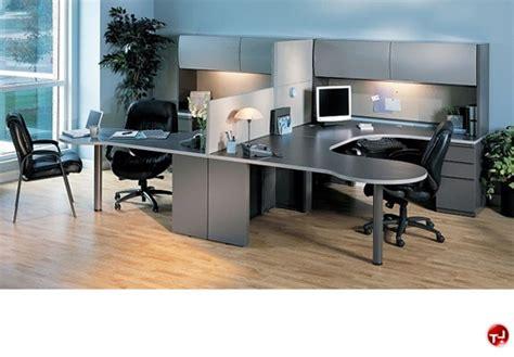 The Office Leader. 2 Person U Shape P-top Office Desk