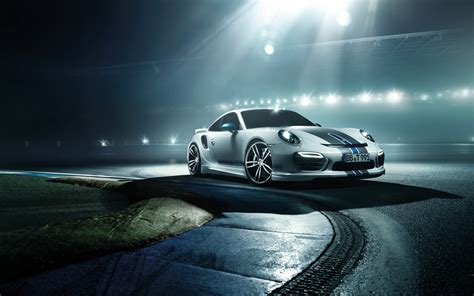 2014 Porsche 911 Turbo By Techart Wallpapers