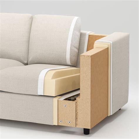 vimle  seat sofa dalstorp multicolour ikea