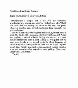 40 Autobiography Examples ( + Autobiographical Essay ...