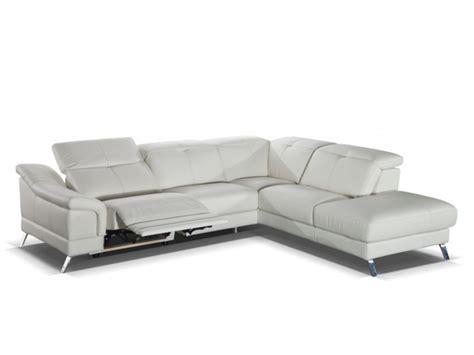 canapé cuir italien 3 places canapé d 39 angle relax en cuir sardaigne ii ivoire ou noir