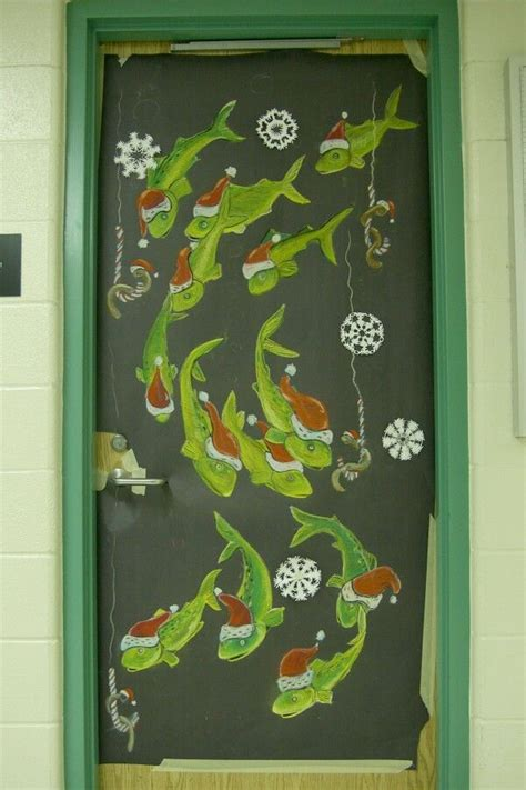 christmas science decor  doors secondary brampton