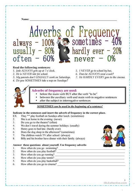 frequency adverbs worksheet free esl printable worksheets made by teachers