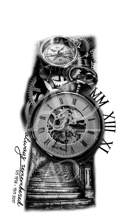 Tattoo Trends - sleeve tattoo design for both men and womans. Design and layout is made by me. T