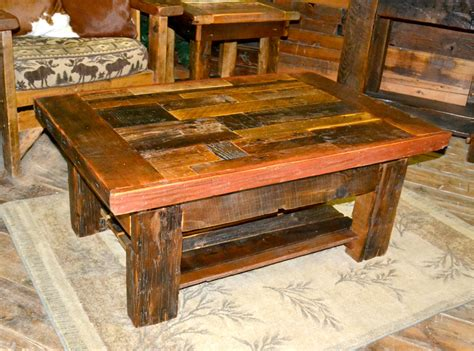 Best barnwood coffee table from beyond the picket fence barn wood coffee table and the. Collage Barnwood Coffee Table   Rustic Furniture Mall by Timber Creek