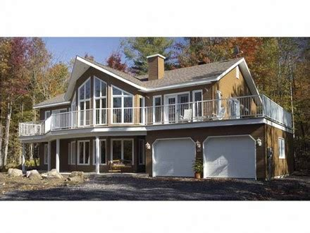 Hillside House Plans Rear View Hillside House Plans with