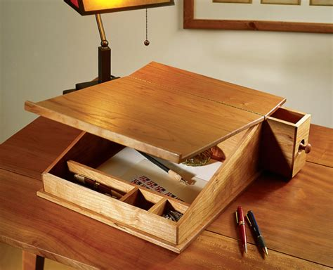 portable writing desk project  popular