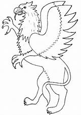Griffin Coloring Pages sketch template