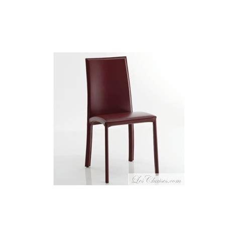 chaise salle a manger cuir chaise en cuir de salle a manger barbara et chaise