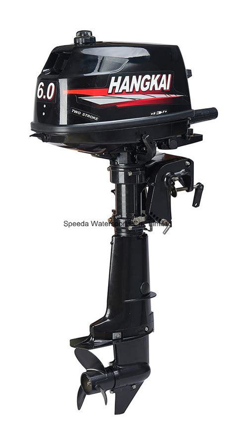 Fishing Boat Outboard Engine by China Hangkai 2 Stroke 6hp Fishing Boat Engine Outboard
