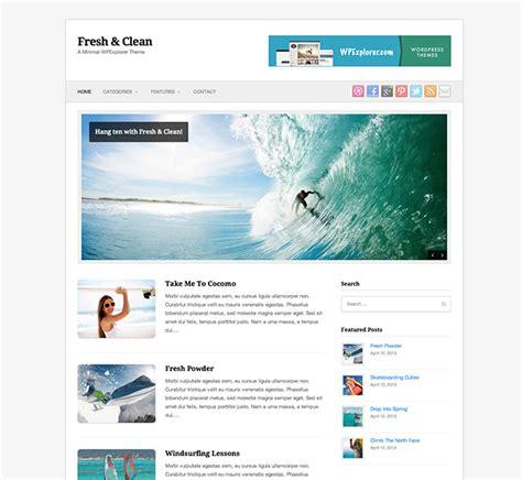 Free Minimal Themes Fresh Clean Free Minimal Theme Web