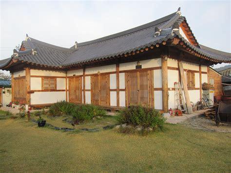 traditional  contemporary natural building  korea
