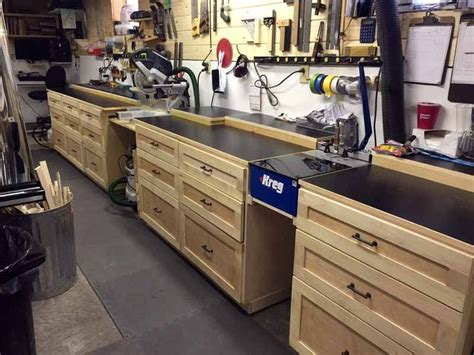 wood shop workbench  drawers google search woodworking shop workbench  drawers