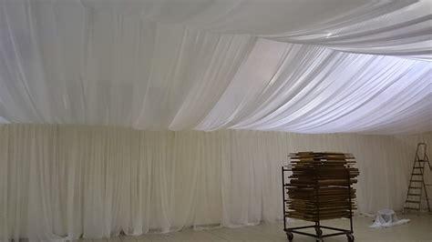 voilages tentures tissus plafond mariage decoratrice mariage festidomi