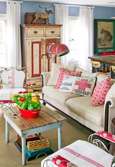 Finds Rooms by Decorating Ideas For Vintage Finds Midwest Living