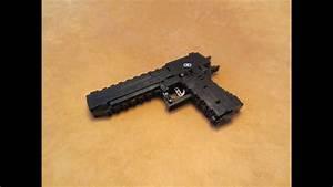 Lego Heavy Weapons  Desert Eagle  Blowback