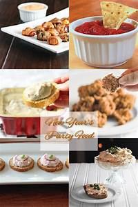 New Year's Eve Party Food Round Up - From Calculu∫ to Cupcake∫