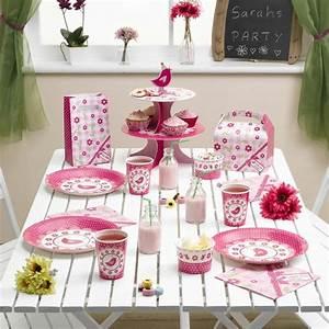 Décoration Table Bapteme Fille : d coration maison anniversaire fille ~ Farleysfitness.com Idées de Décoration