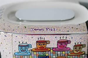 Latte Macchiato Gläser 10 Cm Hoch : tchibo cafissimo mini im james rizzi design mein kaffee und ich ~ Markanthonyermac.com Haus und Dekorationen