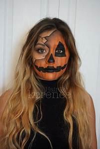 Halloween Kostüm Kürbis : k rbis kost m selber machen kost me halloween halloween makeup und halloween kost m ~ Frokenaadalensverden.com Haus und Dekorationen