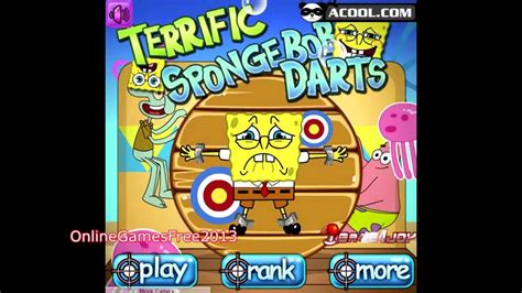 Spongebob Squarepants Online Games Dart Game