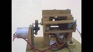 Homemade Ac Generator From Relay Coils