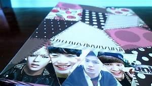D I Y   Kpop  Customize Bts Binder  Notebook Tutorial
