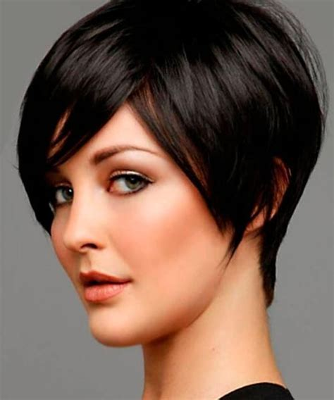 15 inspirations of short hairstyles for thick hair and